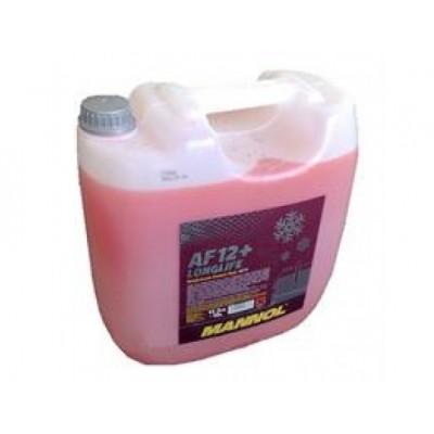 MANNOL AF12+ -75°C Antifreeze (Longlife) красный концентрат 10л