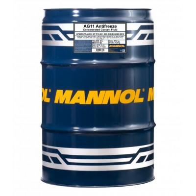 MANNOL AG11 -75°C Antifreeze (Longterm) синий концентрат 60л