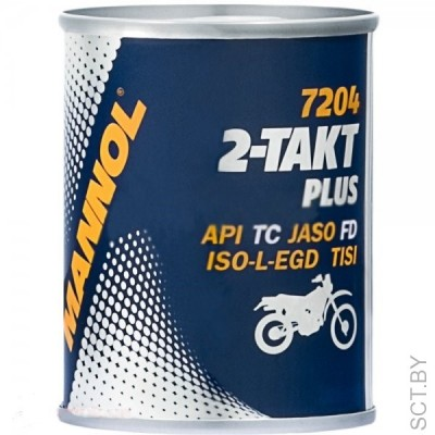 MANNOL 2-Takt Plus TC 100мл METAL