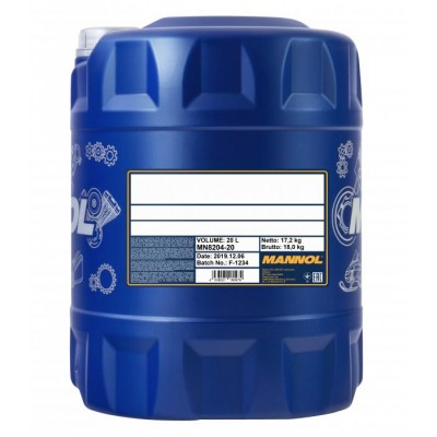 MANNOL Automatik Fluid ATF- A/PSF 20л