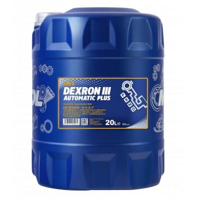 MANNOL Automatik Plus ATF Dexron III 20л