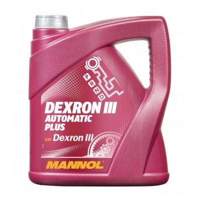 MANNOL Automatik Plus ATF Dexron III 4л