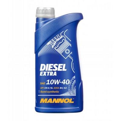 MANNOL Diesel Extra 10W-40 CH-4/SL 1л