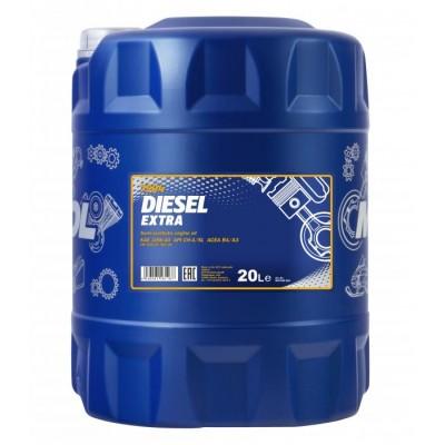 MANNOL Diesel Extra 10W-40 CH-4/SL 20л