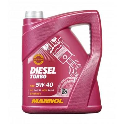 MANNOL Diesel Turbo 5W-40 CI-4/SL 5л