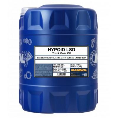 MANNOL Hypoid LSD 85W-140 GL-5 20л
