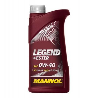 MANNOL Legend + Ester SAE 0W-40 API SM/CF 1л