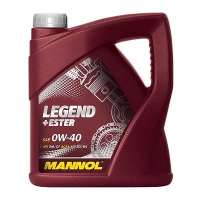 MANNOL Legend + Ester SAE 0W-40 API SM/CF 4л
