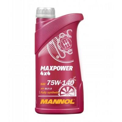 MANNOL Maxpower 4x4 GL-5 75w140 1л