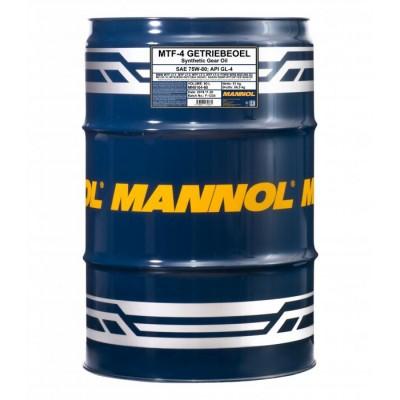 MANNOL MTF-4 Getriebeoel 75W-80 GL-4 60л