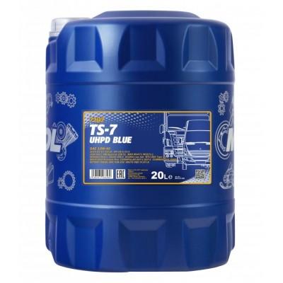 MANNOL TS-7 Blue UHPD 10W-40 E6 CI-4/CH-4/CG-4/CF-4/SL 20л