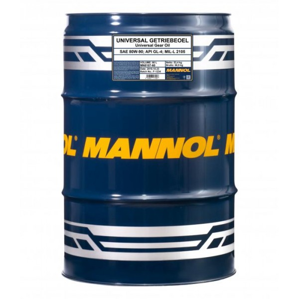 MANNOL Universal 80W-90 GL-4 60л