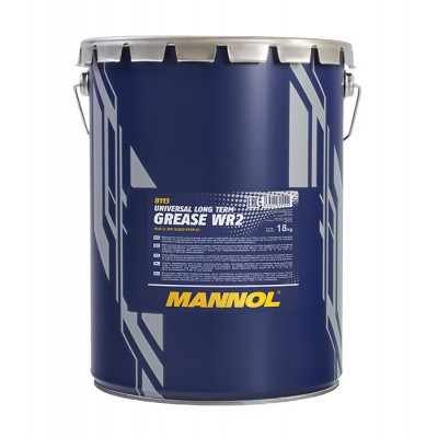 MANNOL WR-2 многоцелевая водостойкая смазка 18кг