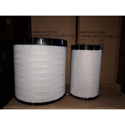 RE210102/RE210103 (комплект) Фильтр воздушный MB-Filter (Аналог AF26337/AF26336 FLEETGUARD)
