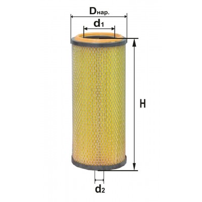 B4318-01 Фильтр воздушный  вставка