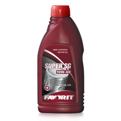FAVORIT SUPER SG 10W-40 API SG/CD 0,9л