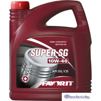FAVORIT SUPER SG 10W-40 API SG/CD 5л