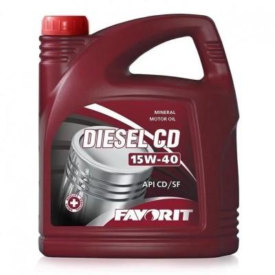 FAVORIT Diesel CD 15W-40 CD/SF 5л