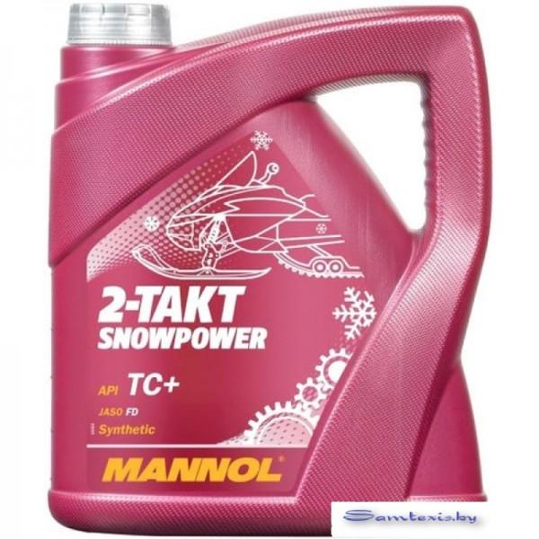 Моторное масло Mannol 2-Takt Snowpower 4л