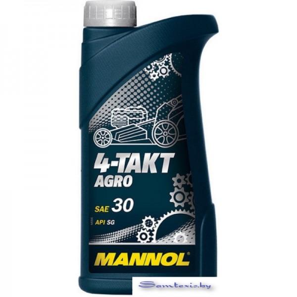 Моторное масло Mannol 4-Takt Agro SAE 30 API SG 1л