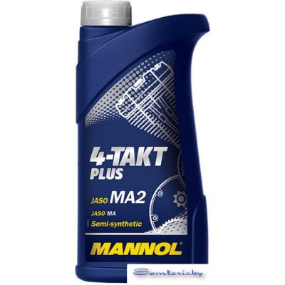 Моторное масло Mannol 4-Takt Plus API SL 1л