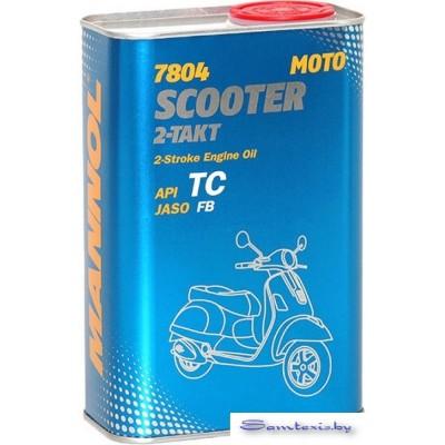 Моторное масло Mannol Scooter 2-Takt 1л