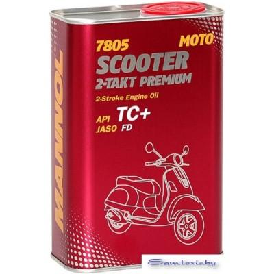 Моторное масло Mannol Scooter 2-Takt Premium 1л